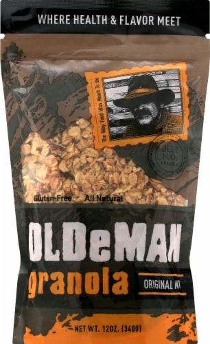 Olde Man Original Nut Granola Perspective: front