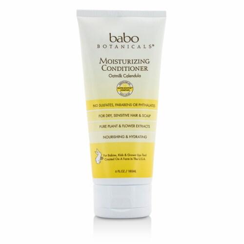 Babo Botanicals - Conditioner - Moisturizing - Oatmilk - 6 oz Perspective: front