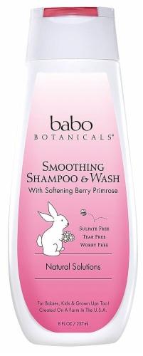 Babo Botanicals Berry Primrose Smoothing Shampoo & Wash Perspective: front