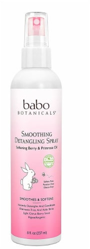 Babo Botanicals  Smoothig Detangling Conditioner with Berry Primrose Perspective: front