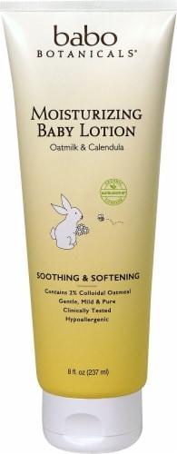 Babo Botanicals  Oatmilk & Calendula Moisturizing Baby Lotion Perspective: front