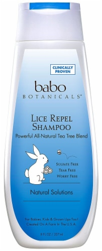 Babo Botanicals  Lice Repellent Shampoo Perspective: front