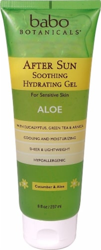 Babo Botanicals After Sun Soothing Gel Aloe Perspective: front