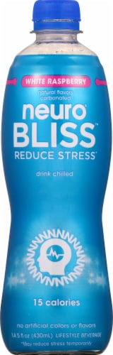 Neuro Bliss White Raspberry Drink Perspective: front
