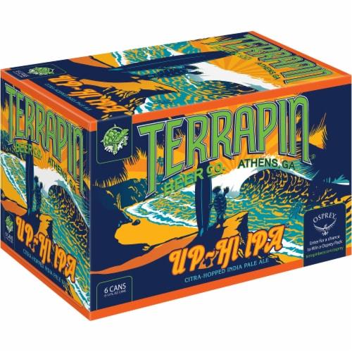 Terrapin Beer Co. Up-Hi IPA Beer 6 Cans Perspective: front