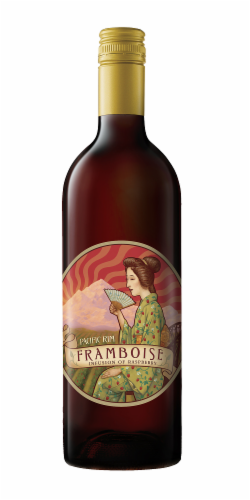 Pacific Rim Framboise Infusion of Raspberry Perspective: front