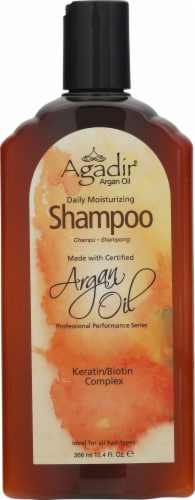 Agadir Argan Oil Daily Moisturizing Shampoo Perspective: front
