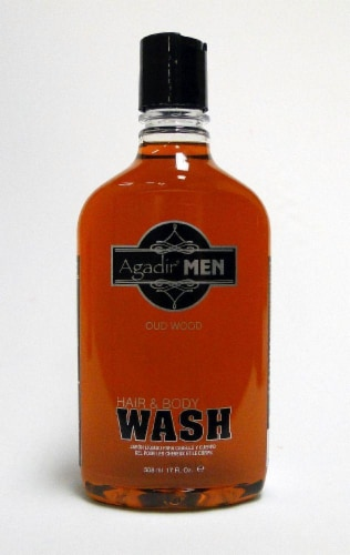 Agadir Men Hair & Body Wash Perspective: front
