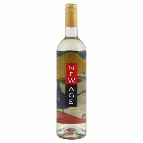 New Age White Blend Perspective: front