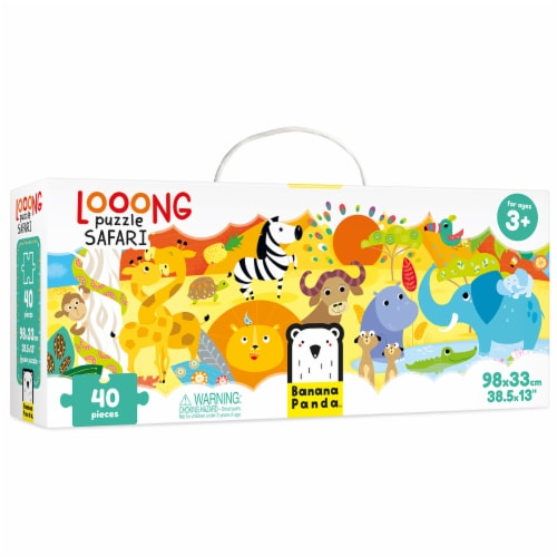 Looong Puzzle Safari Perspective: front