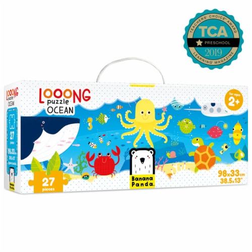 Looong Puzzle Ocean Perspective: front