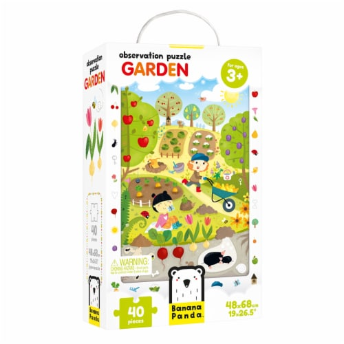 Observation Puzzle Garden age 3+ Perspective: front