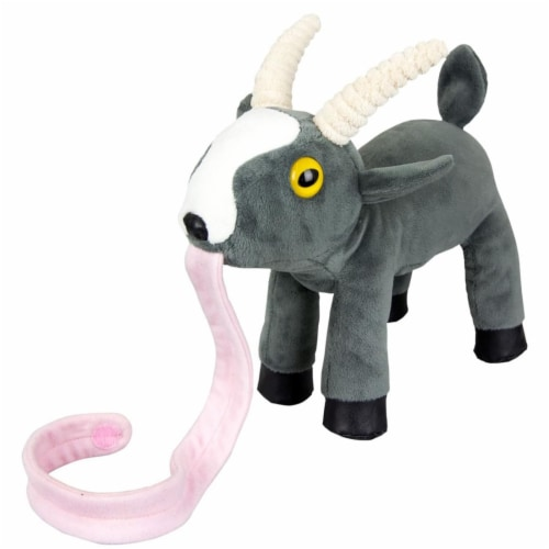 "Goat Simulator 10"" Plush with Stick-On Tongue Perspective: front"