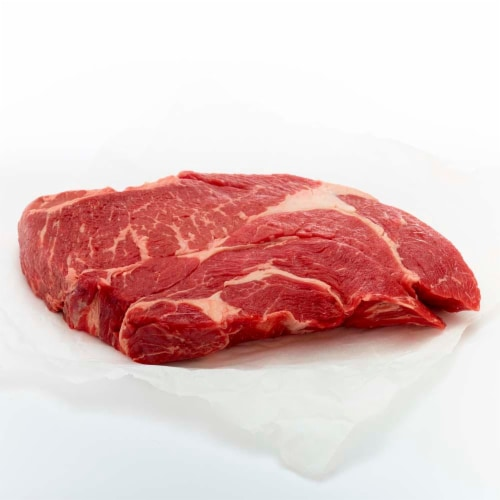 Beef Choice Under Blade Chuck Roast Perspective: front