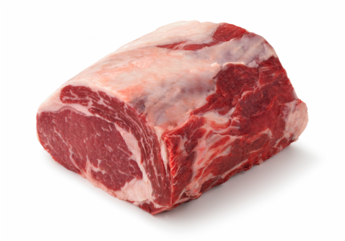 Beef Choice Bone-In Ribeye Whole in Bag (Limit 2 on Sale Retail) Perspective: front