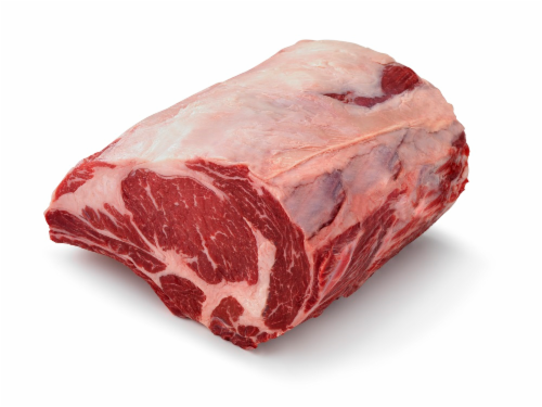 Beef Choice Rib Roast Small End (Limit 1 on Sale Retail) Perspective: front