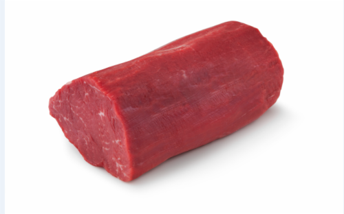 Beef Choice Whole Tenderloin Perspective: front