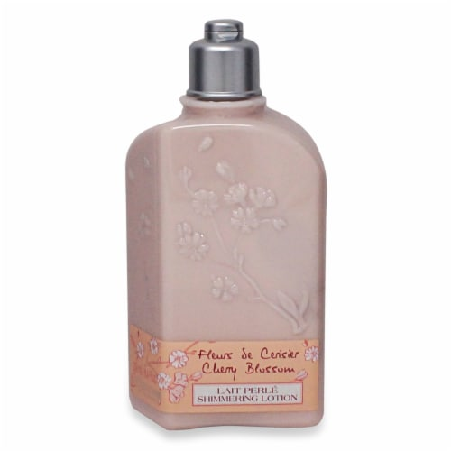 L'OCCITANE Fleurs Se Cerisier Cherry Blossom Shimmering Lotion Perspective: front