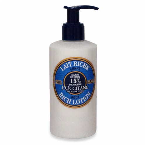 L'OCCITANE Shea Butter Rich Body Lotion Perspective: front