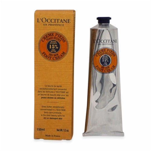 L'OCCITANE Shea Butter Foot Cream Perspective: front