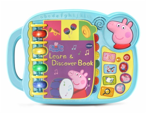 VTech Peppa Pig Learn & Discover Book Perspective: front