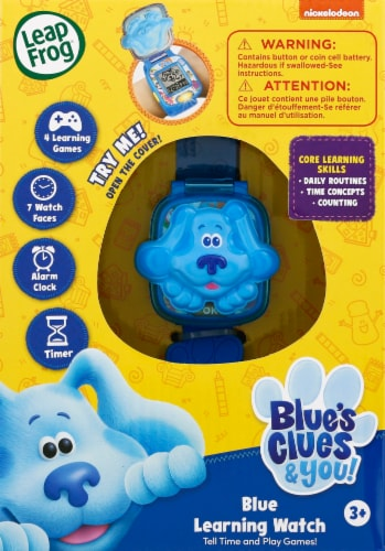 LeapFrog® Blue's Clues & You! Watch - Blue Perspective: front