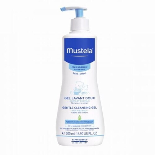 Mustela Gentle Cleansing Gel - Hair & Body - Normal Skin Perspective: front