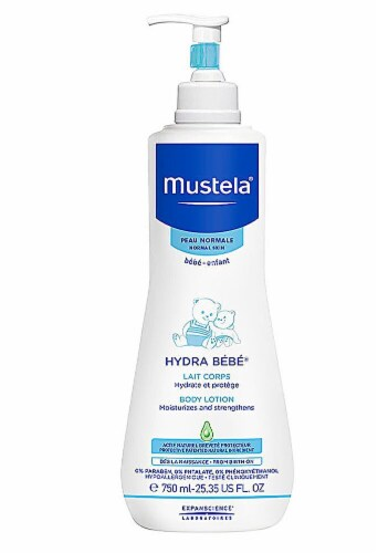 Mustela  Baby Body Lotion Perspective: front