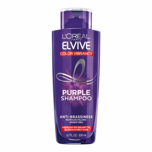 L'Oreal Paris Elvive Color Vibrancy Purple Shampoo Perspective: front