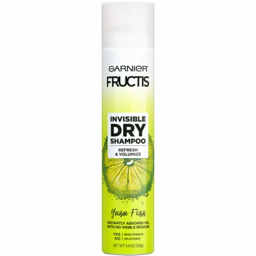 Garnier Fructis Yuzu Fizz Invisible Dry Shampoo Perspective: front