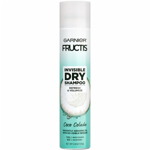 Garnier Fructis Coco Colada Invisible Dry Shampoo Perspective: front