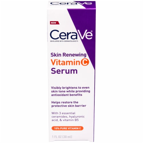 CeraVe Skin Renewing Vitamin C Serum Perspective: front