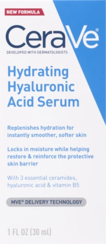 CeraVe Hydrating Hyaluronic Acid Serum Perspective: front