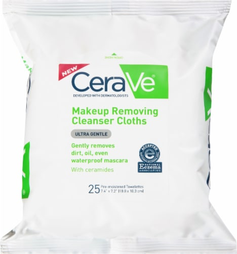 CeraVe Makeup Removing Cleansing Cloths Perspective: front