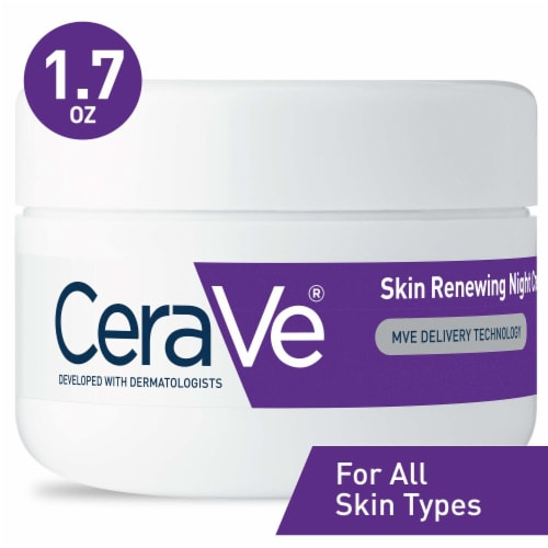 CeraVe Skin Renewing Night Cream Perspective: front