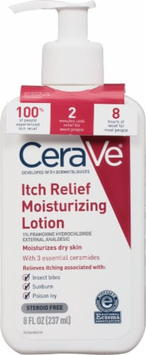 CeraVe Itch Relief Moisturizing Lotion Perspective: front