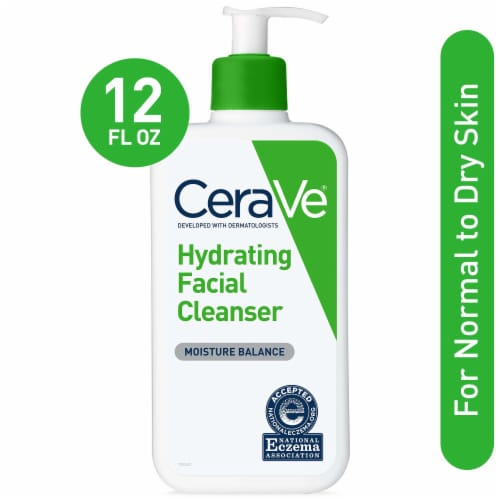 CeraVe Hydrating Facial Cleanser Perspective: front
