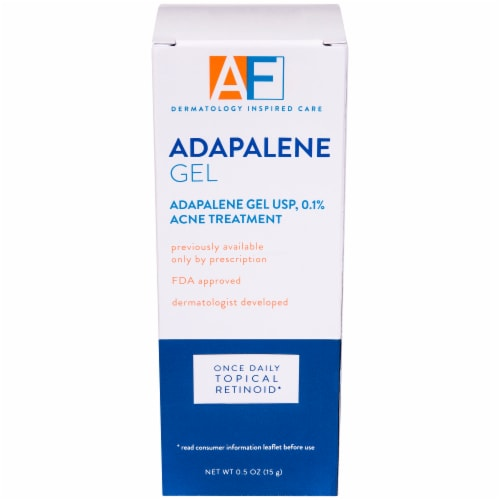 Acne Free Adapalene Gel Acne Treatment Perspective: front