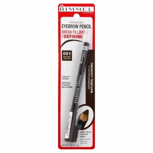 Rimmel Professional Dark Brown Eyebrown Pencil Perspective: front
