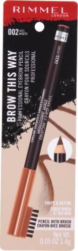 Rimmel Professional Hazel Eyebrow Pencil Perspective: front