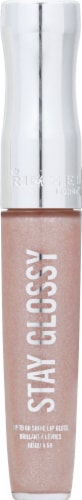 Rimmel Stay Glossy Dorchester Rose Lip Gloss Perspective: front