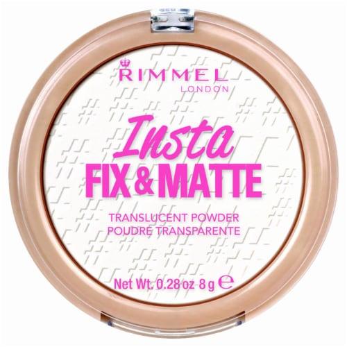 Rimmel Insta Fix & Matte Translucent Powder Perspective: front
