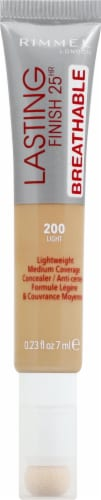 Rimmel Lasting Finish Breathable 200 Light Liquid Concealer Perspective: front