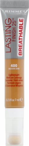 Rimmel Lasting Finish Breathable 400 Medium Dark Concealer Perspective: front