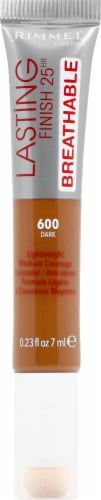 Rimmel Lasting Finish 25hr Breathable 600 Dark Concealer Perspective: front