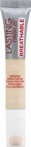 Rimmel Lasting Finish Breathable 001 Light Ivory Concealer Perspective: front