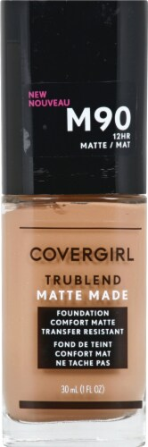 CoverGirl Trublend Matte Made M90 Perfect Beige Foundation Perspective: front