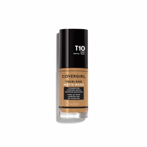 CoverGirl TruBlend Matte Made Golden Amber Foundation Perspective: front