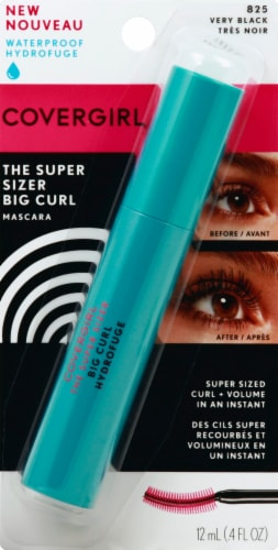 CoverGirl Super Sizer Big Curl 825 Very Black Mascara Perspective: front