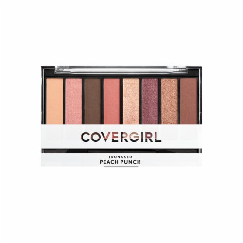 CoverGirl TruNaked Eyeshadow Palette - Peach Punch Perspective: front